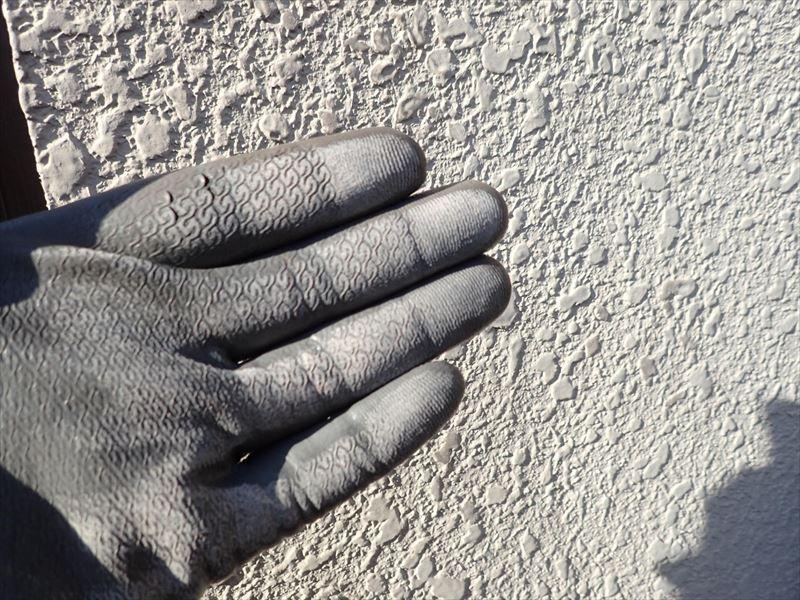 袖ケ浦市 塗膜の劣化によるチョーキングの発生