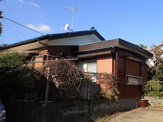 船橋市宮本の屋根塗装前点検