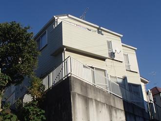 船橋市の外壁塗装前点検