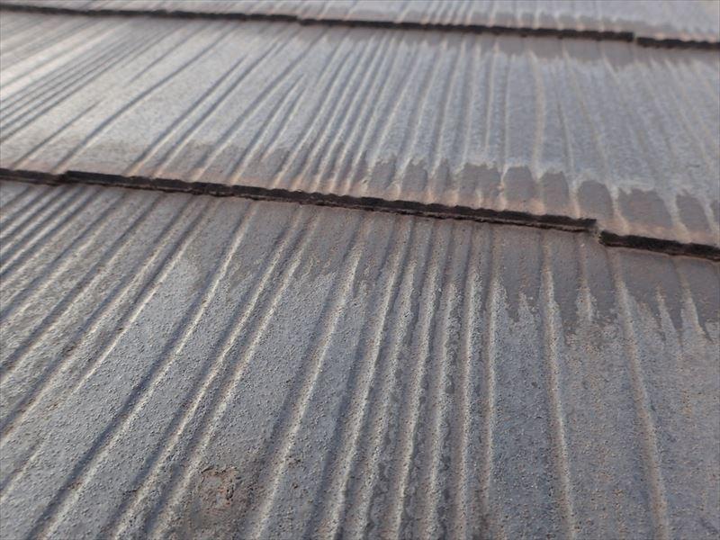 千葉市花見川区作新台 屋根材の反り確認