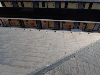 千葉市花見川区作新台 屋根材の状況確認