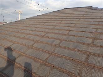 千葉市花見川区作新台 苔・汚れの堆積
