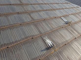 千葉市花見川区作新台 汚れの付着による変色