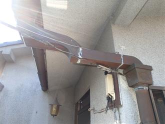 雨樋の継目補修