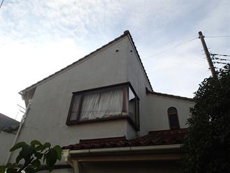 モルタル外壁からの雨漏り