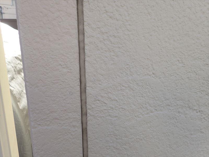 富津市 コーキングの劣化状況の確認