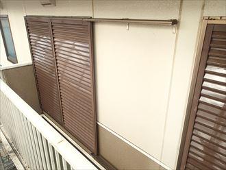 雨戸,外壁,塗装完了