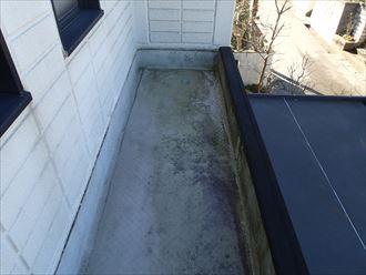 船橋市でシート防水点検