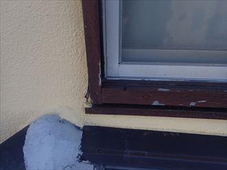 窓枠の劣化