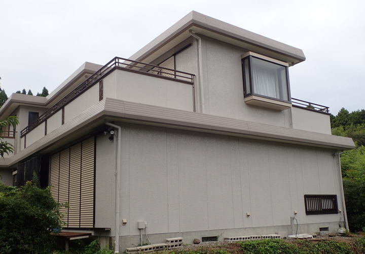 屋根外壁塗装が竣工