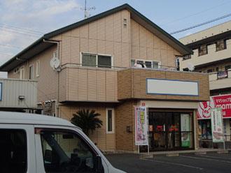 外壁塗装前の店舗