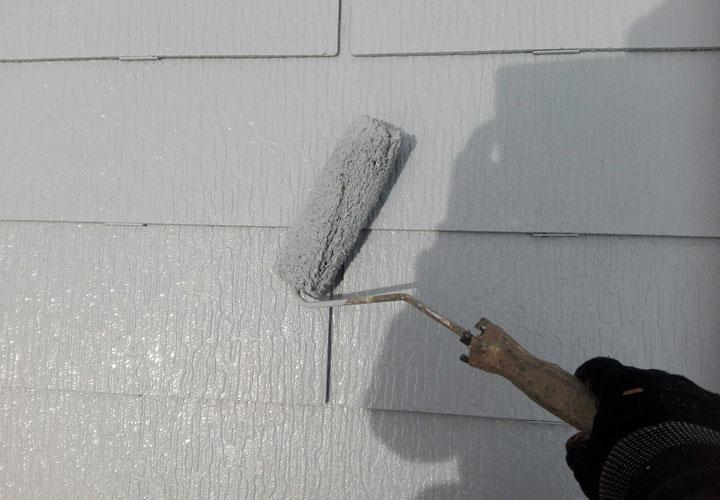 サーモアイSi クールライトグレーで屋根塗装