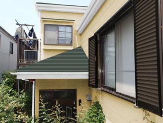外壁パーフェクトトップ ND-250 屋根スーパーガルテクト シェイドモスグリーン
