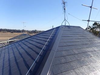 棟板金交換 屋根塗装 アフター