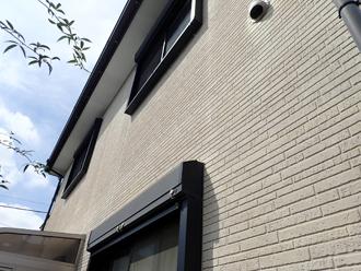 窯業系サイディング外壁は比較的綺麗な状態です