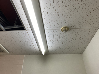 天井張替え前は、ジプトーンでした