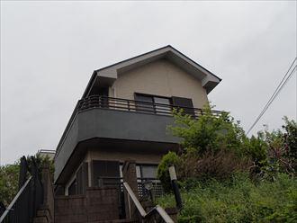 千葉市中央区の住宅塗装前点検