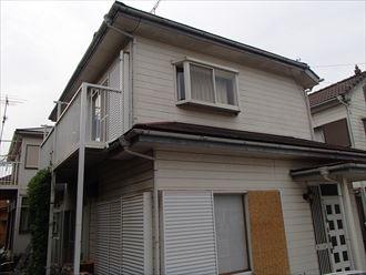 千葉市稲毛区の屋根外壁塗装前点検