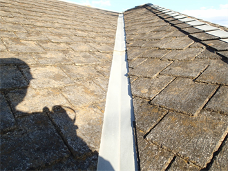 屋根塗装前点検