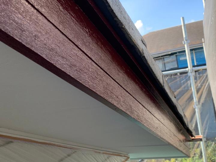 破風板塗装After