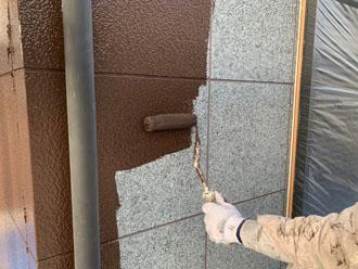 ファイン4Fセラミック J15-30Bで1階の外壁塗装