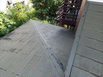 市原市屋根塗装調査①
