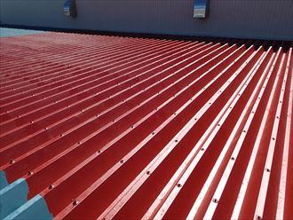 千葉市 屋根へのさび止め塗布
