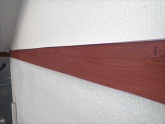 木部 幕板 下塗り