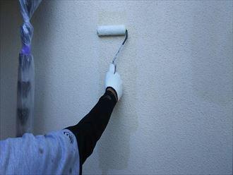 千葉市緑区 下塗り材塗材塗布