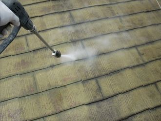 市原市 屋根洗浄