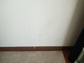 袖ケ浦市 雨漏りによるカビの発生