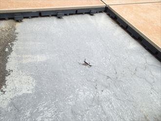 袖ケ浦市 防水層の劣化