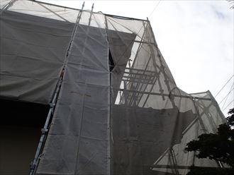 千葉市緑区 仮設足場組み立て