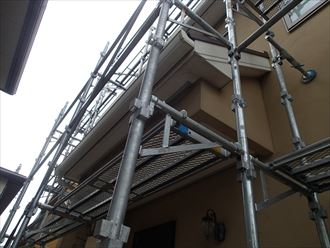 千葉市緑区 仮設足場設置