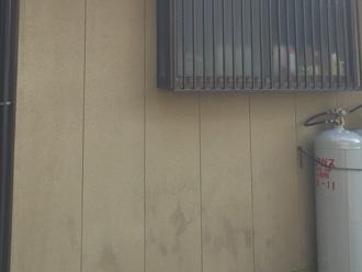 富津市 外壁塗装前点検 汚れた外壁
