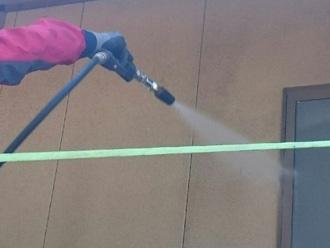 富津市 外壁の高圧洗浄