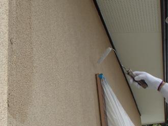 富津市 外壁塗装 下塗り